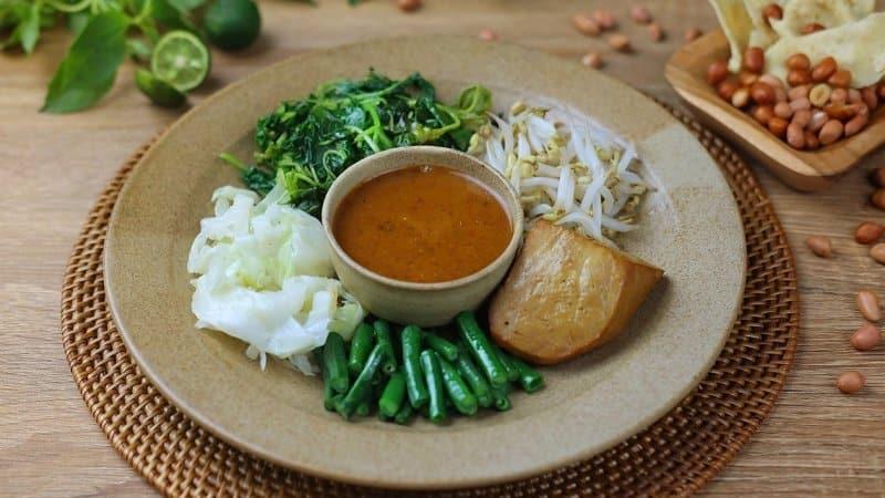 pecel sayur khas sukabumi