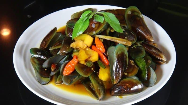 Seafood Kerang Hijau