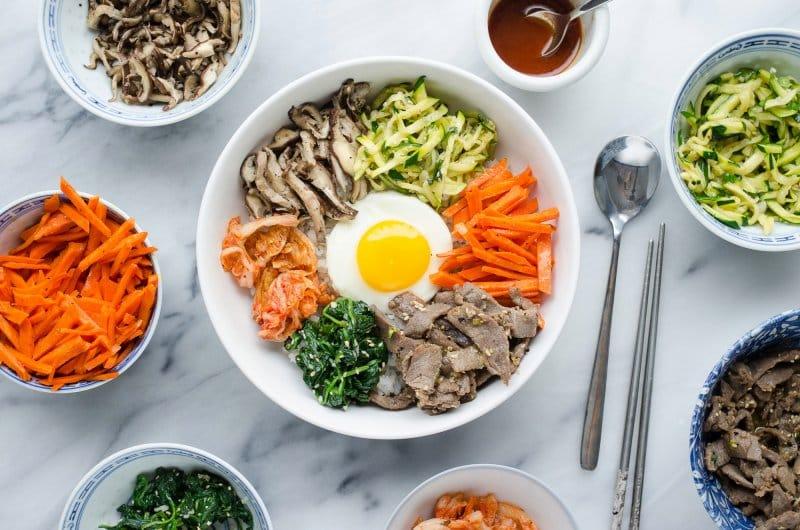 10 makanan khas korea selatan