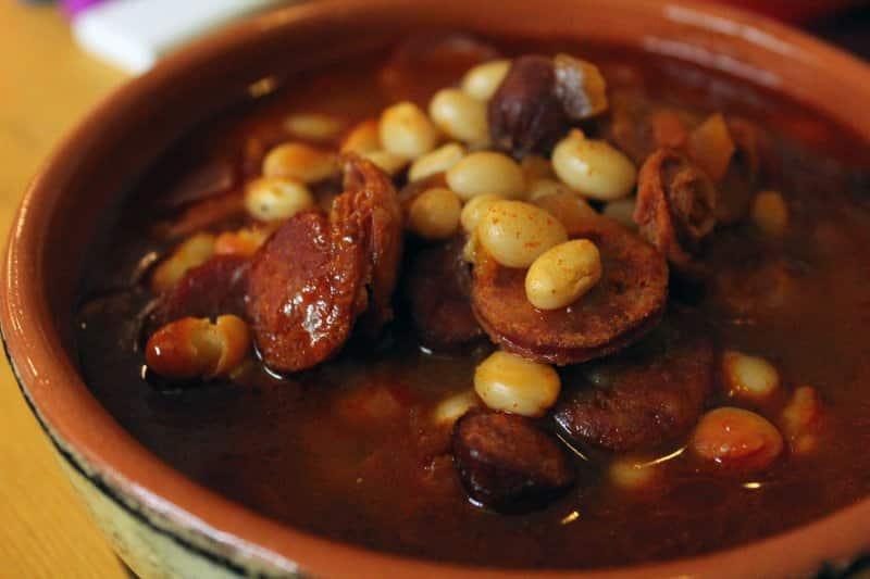 ciri khas makanan spanyol