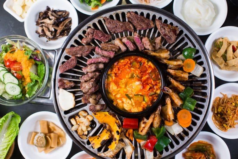 makanan berat khas korea selatan gogigui