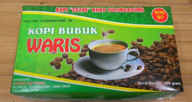 minuman kopi khas tulungagung