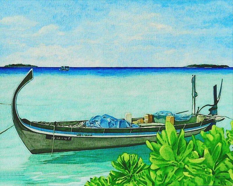 oleh-oleh khas maldives kesenian