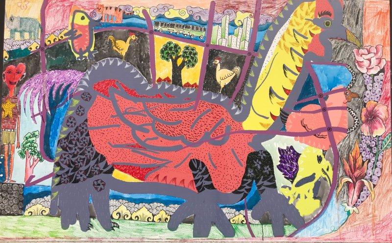 oleh-oleh khas brunei darussalam karya seni
