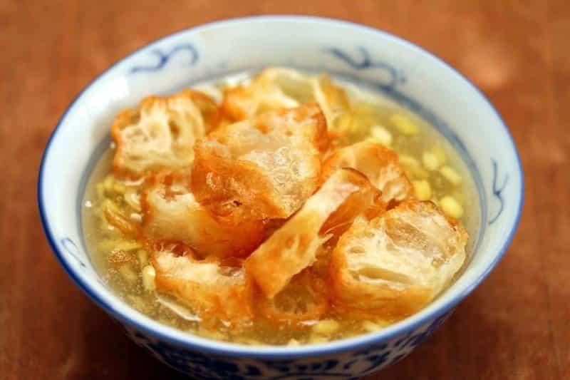 bubur gunting durian