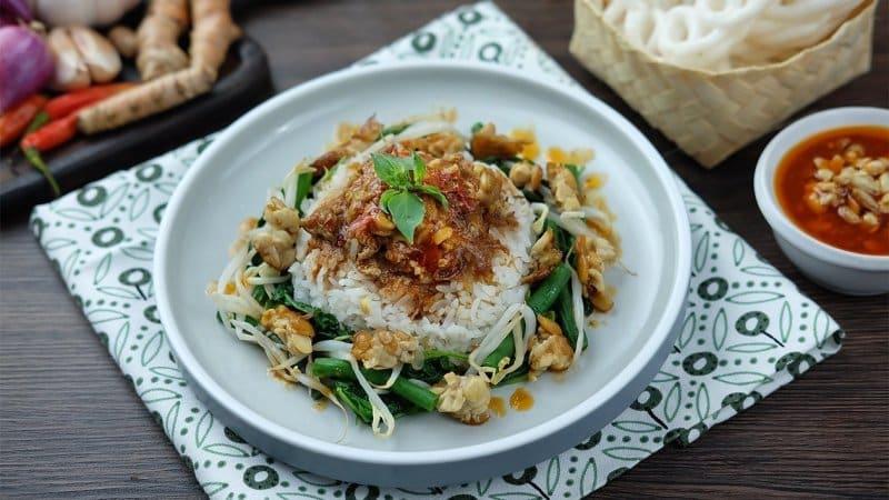 makanan khas klaten nasi tumpang lethok
