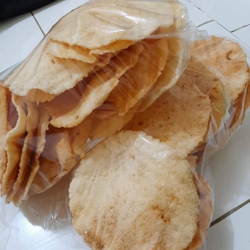 camilan opak singkong makanan khas wonosobo