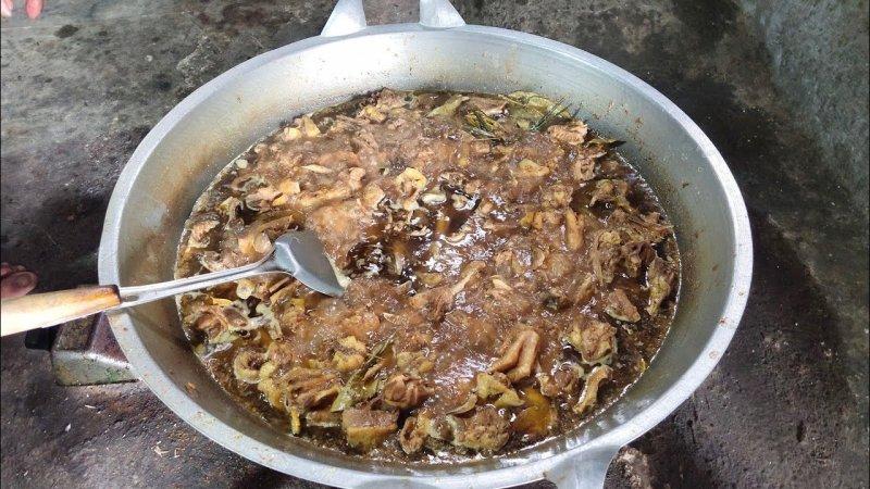pedesan entog makanan khas indramayu