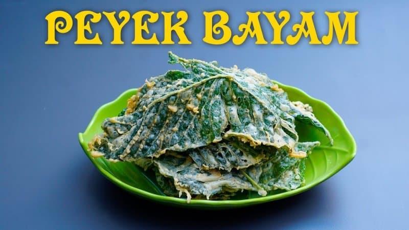 peyek bayam camilan khas makanan bojonegoro