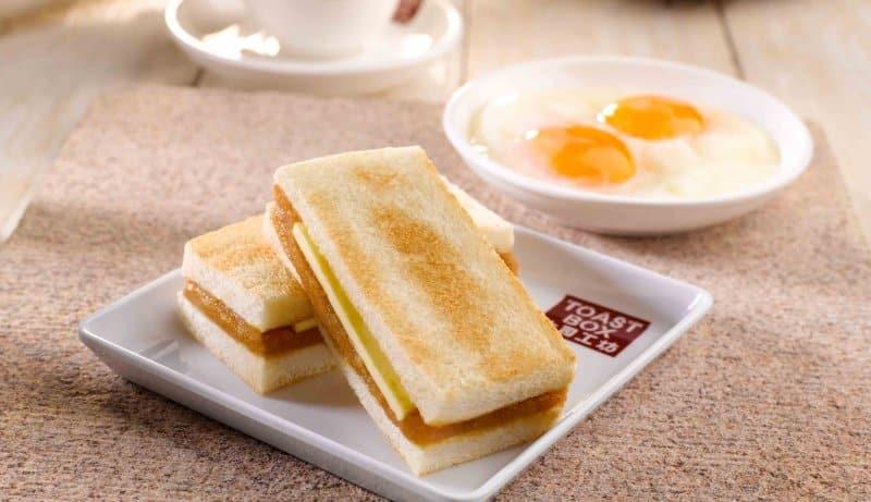 makanan khas singapura toast