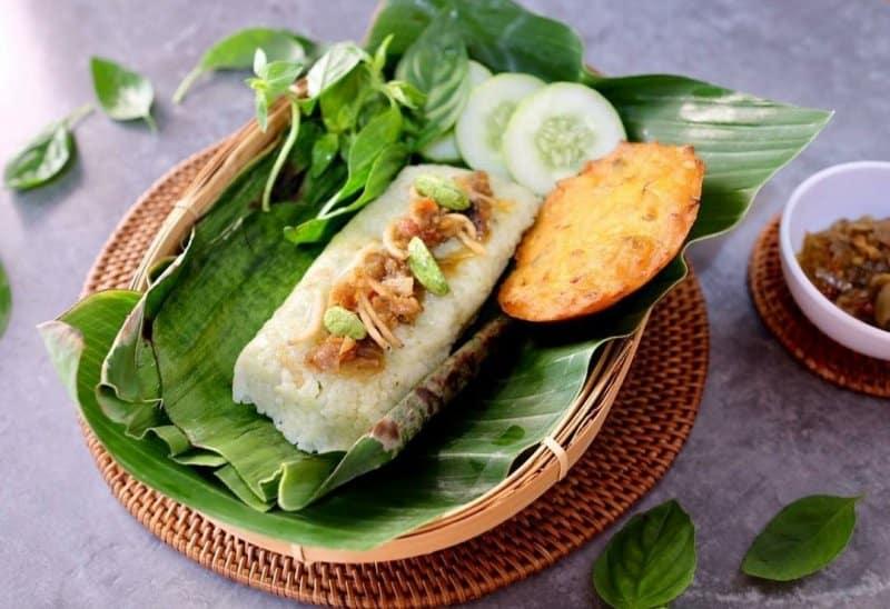 resep nasi bakar seafood