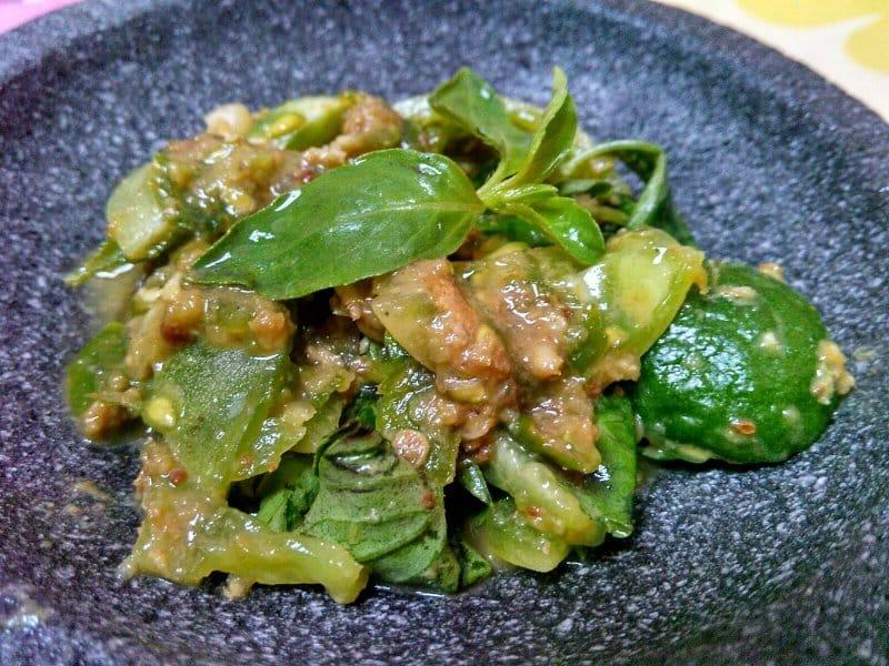 makanan khas garut sambal cibiuk