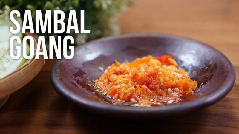 sambal goang makanan khas tasikmalaya