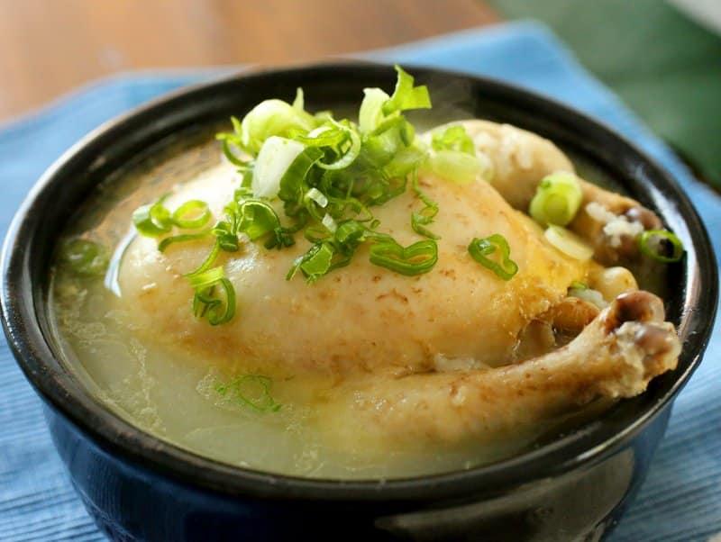 makanan khas korea selatan Samgyetang
