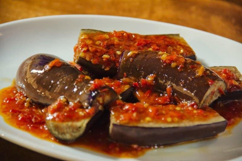 makanan khas tulungagung sayur pindang terong
