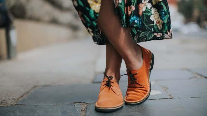 sepatu wanita modern khas afrika