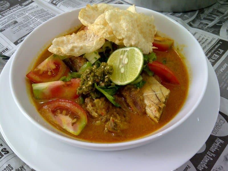 makanan khas blitar soto babat