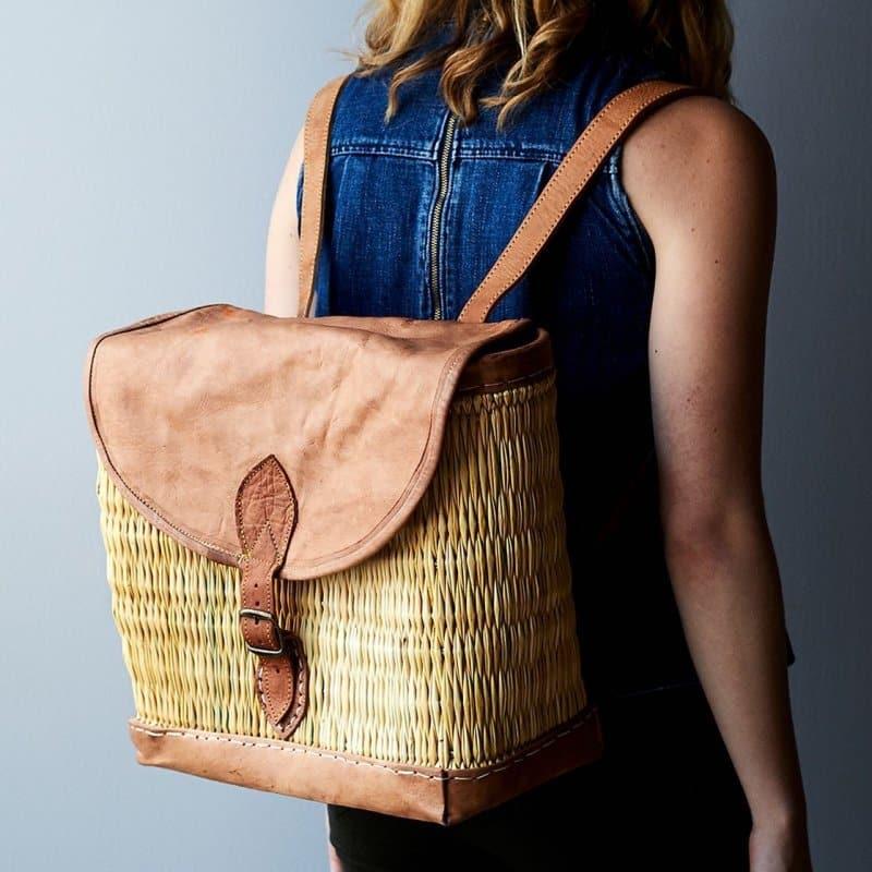 tas punggung oleh-oleh khas afrika