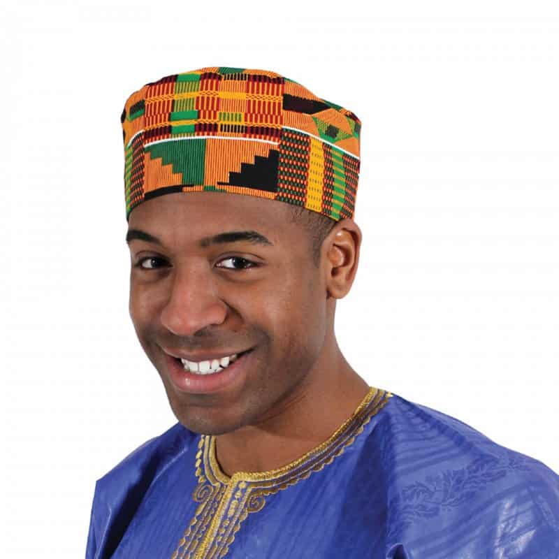 topi khas masyarakat afrika