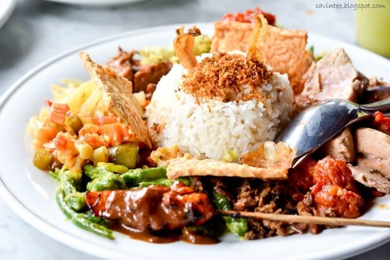 nasi krawu lombok