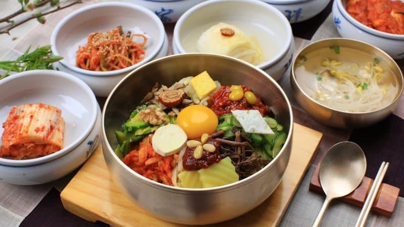 makanan khas korea selatan