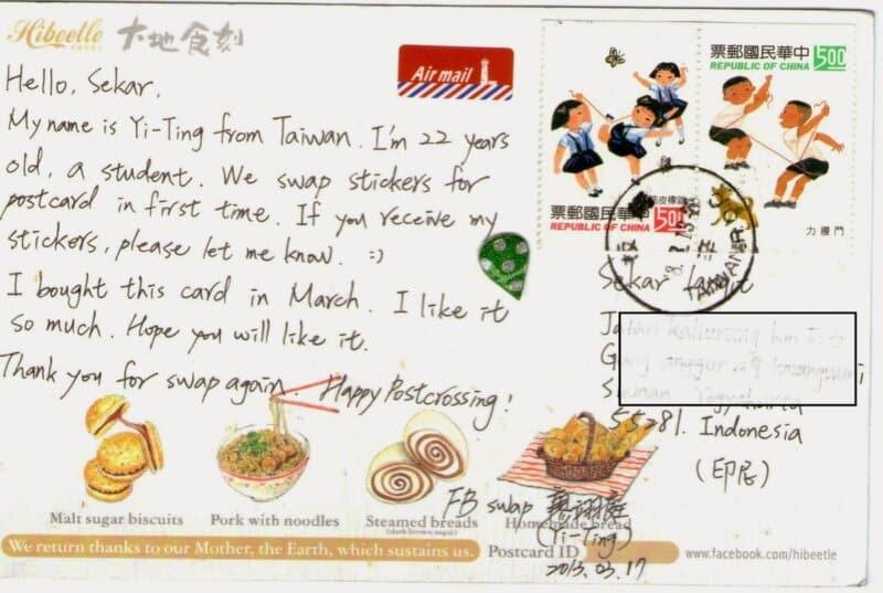 Kartu-Pos-Taiwan