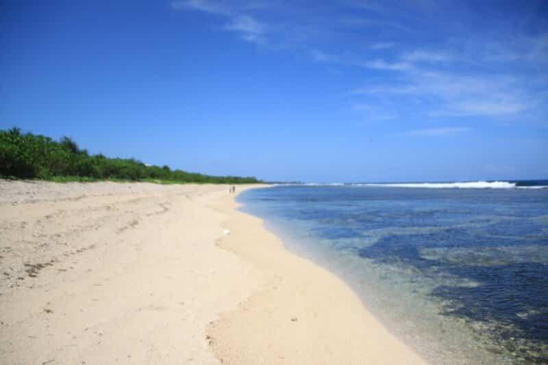 Fasilitas di Pantai Cibuaya