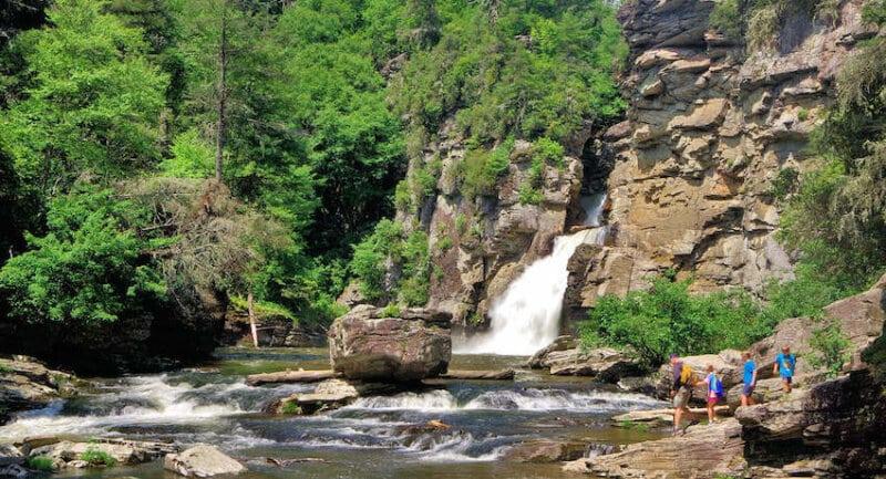 Akses Menuju Air Terjun Blangsinga
