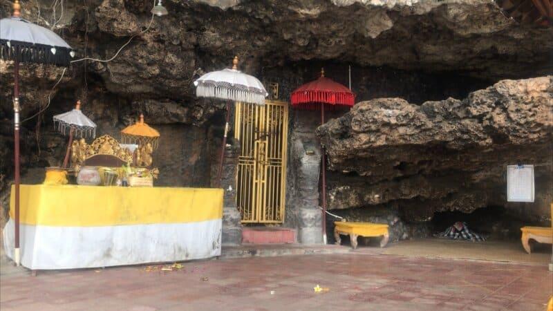 Lokasi Pura Goa Gong