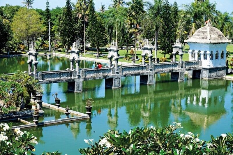 Lokasi Taman Ujung Bali