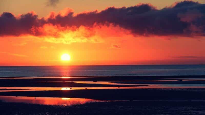 Pesona Sunrise yang Epic