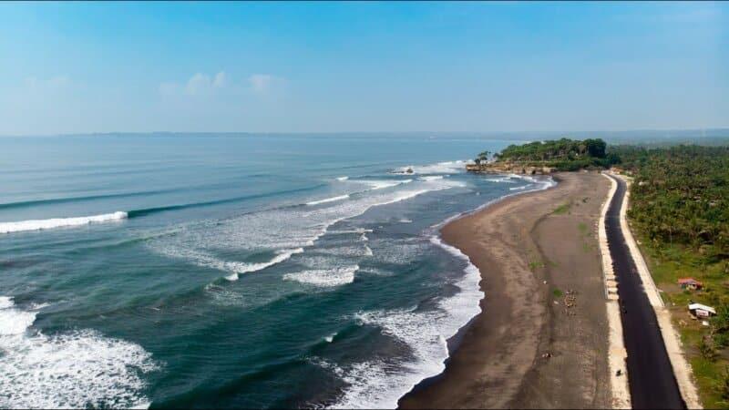 Rute Menuju Pantai Karang Tirta