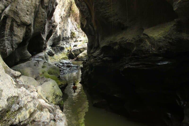 Sejarah Beji Guwang Hidden Canyon