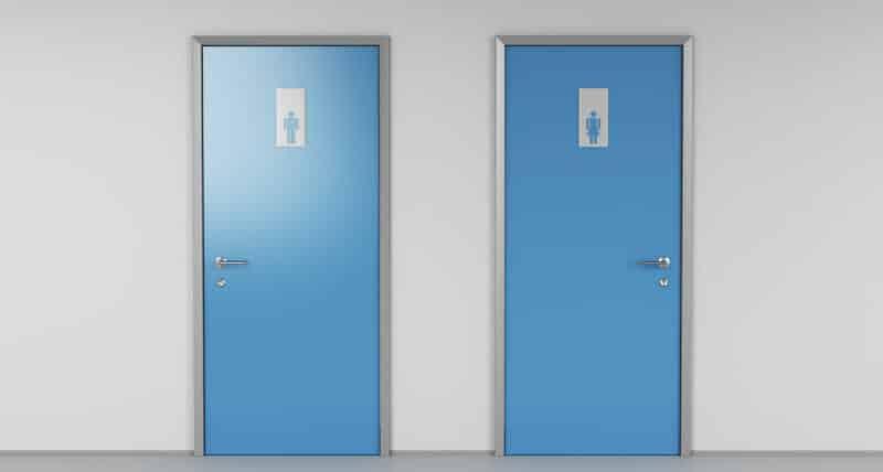 Tempat Ganti Toilet dan Kamar Mandi