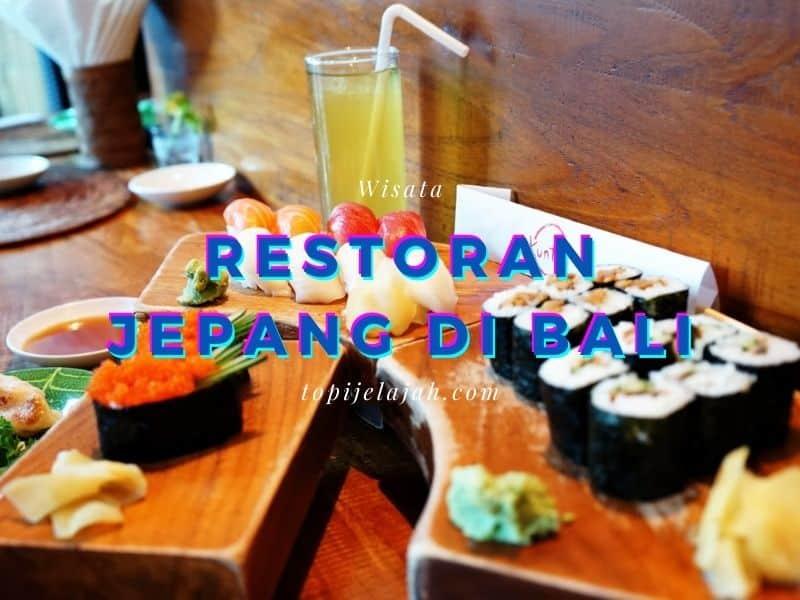 restoran jepang di bali