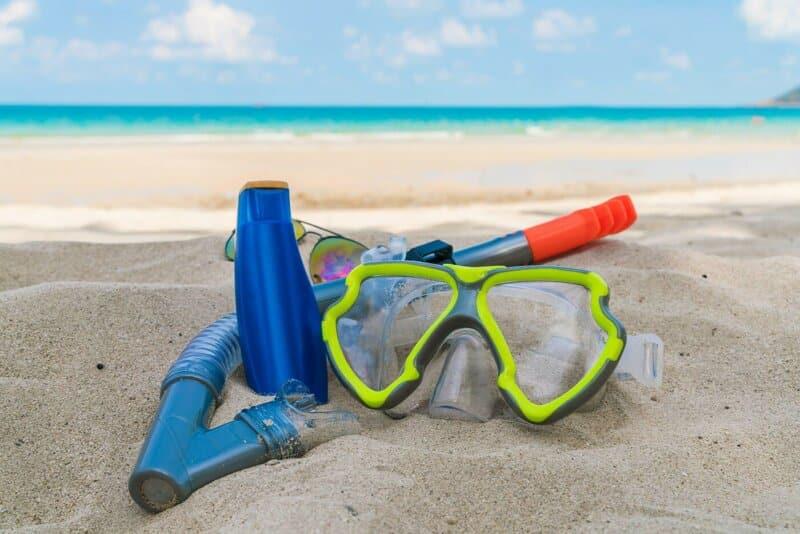 Persewaan Keperluan Snorkeling